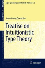 Treatise on Intuitionistic Type Theory