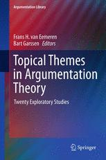 Topical Themes in Argumentation Theory