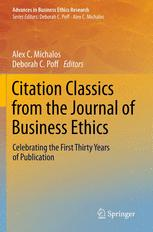 Citation Classics from the Journal of Business Ethics