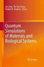 Quantum Simulations of Materials and Biological Systems