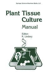 Plant Tissue Culture Manual