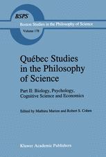 Québec Studies in the Philosophy of Science