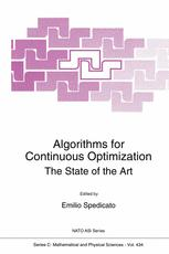 Algorithms for Continuous Optimization