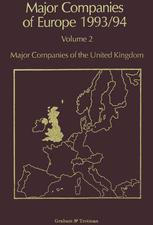 Major Companies of Europe 1993/94