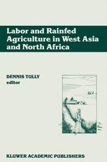 Labor and Rainfed Agriculture in West Asia and North Africa
