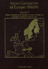 Major Companies of Europe 1990/91 Volume 3