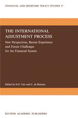 The International Adjustment Process
