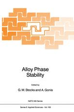 Alloy Phase Stability