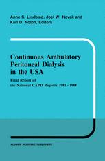 Continuous Ambulatory Peritoneal Dialysis in the USA