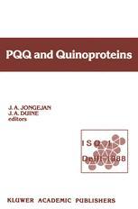 PQQ and Quinoproteins