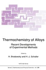 Thermochemistry of Alloys