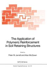 The Application of Polymeric Reinforcement in Soil Retaining Structures