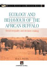 Ecology and Behaviour of the African Buffalo