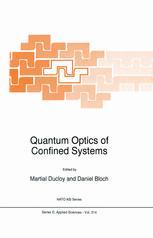 Quantum Optics of Confined Systems