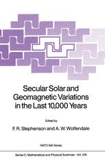 Secular Solar and Geomagnetic Variations in the Last 10,000 Years