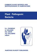 Plant Pathogenic Bacteria