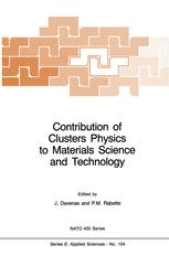 Contribution of Clusters Physics to Materials Science and Technology