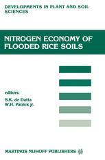 Nitrogen Economy of Flooded Rice Soils