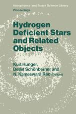 Hydrogen Deficient Stars and Related Objects