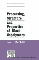 Processing, Structure and Properties of Block Copolymers