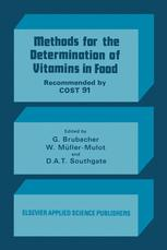 Methods for the Determination of Vitamins in Food