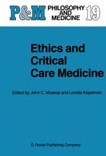 Ethics and Critical Care Medicine