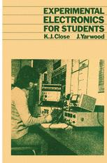 Experimental Electronics for Students