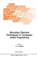 Boundary Element Techniques in Computer-Aided Engineering