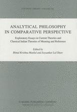 Analytical Philosophy in Comparative Perspective