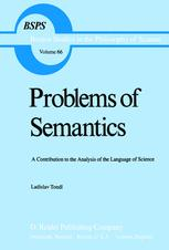 Problems of Semantics