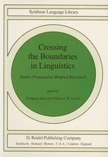 Crossing the Boundaries in Linguistics