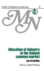 Allocation of Industry in the Andean Common Market