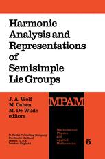 Harmonic Analysis and Representations of Semisimple Lie Groups