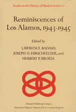 Reminiscences of Los Alamos 1943–1945