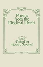 Poems from the Medical World