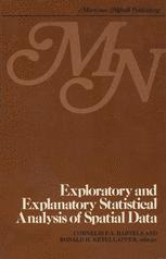 Exploratory and explanatory statistical analysis of spatial data