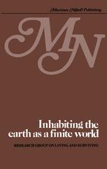 Inhabiting the earth as a finite world