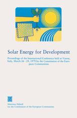 Solar Energy for Development