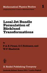Local Jet Bundle Formulation of Bäcklund Transformations