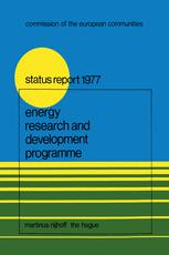 Energy Research and Development Programme