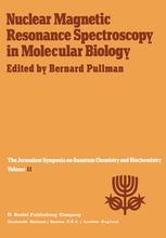 Nuclear Magnetic Resonance Spectroscopy in Molecular Biology
