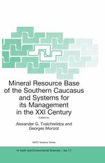 Mineral Resource Base of the Southern Caucasus and Systems for its Management in the XXI Century