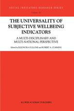 The Universality of Subjective Wellbeing Indicators