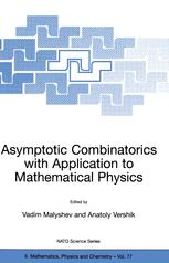 Asymptotic Combinatorics with Application to Mathematical Physics
