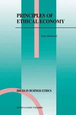 Principles of Ethical Economy