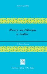 Rhetoric and Philosophy in Conflict