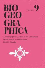 A Biogeographical Analysis of the Chihuahuan Desert through its Herpetofauna