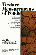 Texture Measurements of Foods