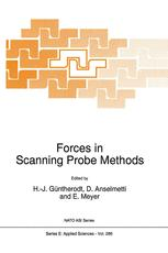 Forces in Scanning Probe Methods