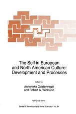 The Self in European and North American Culture: Development and Processes